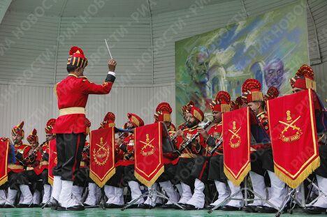 Выступление оркестра Верховного командования Вооруженных сил Индии