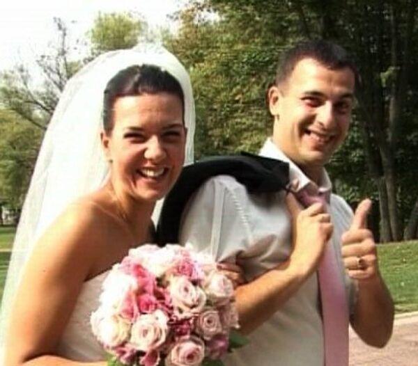 Красавицы в белом - свадебное сумасшествие в столице 09.09.09