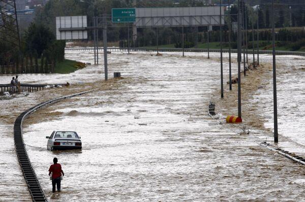 Наводнение в Стамбуле