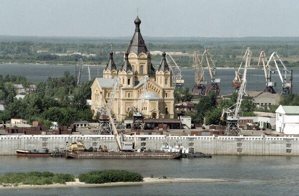 Кафедральным храмом Нижнего Новгорода стал собор Александра Невского