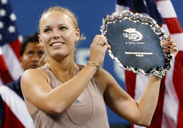 Датская теннисистка Каролин Возняцки