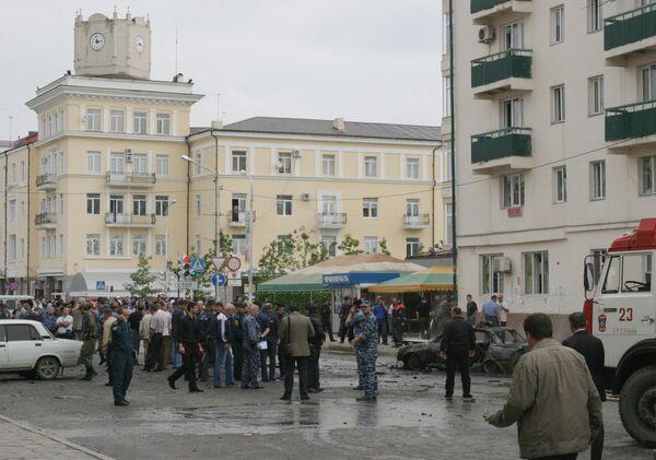 Террористы попытались нанести по властям Чечни двойной удар