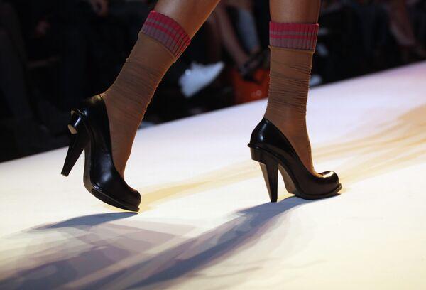 Туфли из коллекции Alexandre Herchcovitch на неделе моды в Нью-Йорке