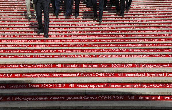 VIII Международный инвестиционный форум Сочи – 2009