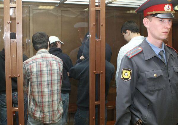 Банде московских скинхедов, обвиняемых в покушениях на иностранцев, вынесен приговор