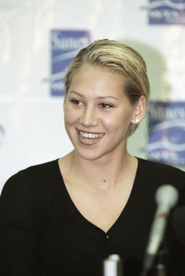 Российская теннисистка Анна Курникова