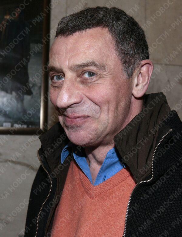 Иван Дыховичный на премьере драмы А. Балабанова Морфий