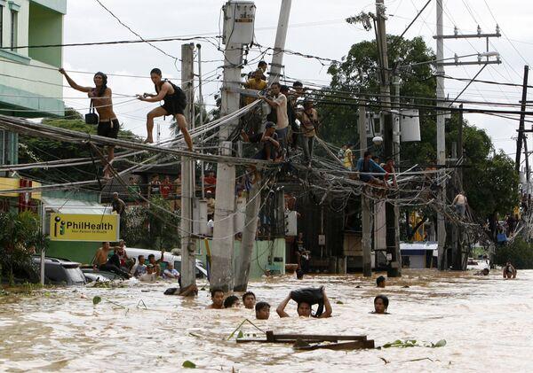 Мощное наводнение на Филиппинах