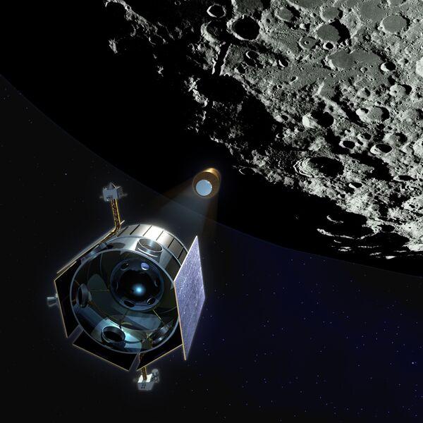 Специалисты НАСА поменяли место падения лунного зонда LCROSS