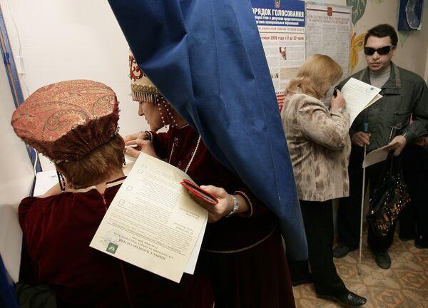 Во время голосования в Ростовской области