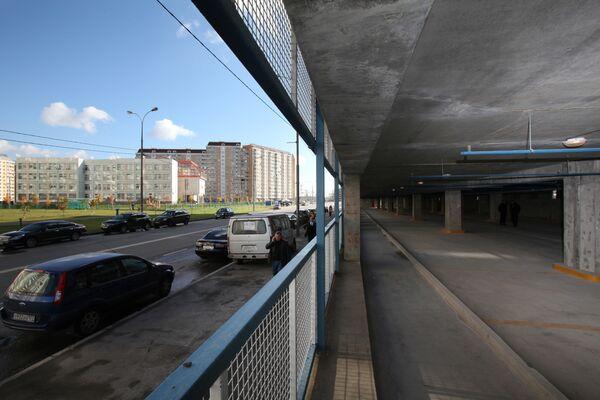 Почти 200 народных гаражей будет достроено в Москве в 2009 году