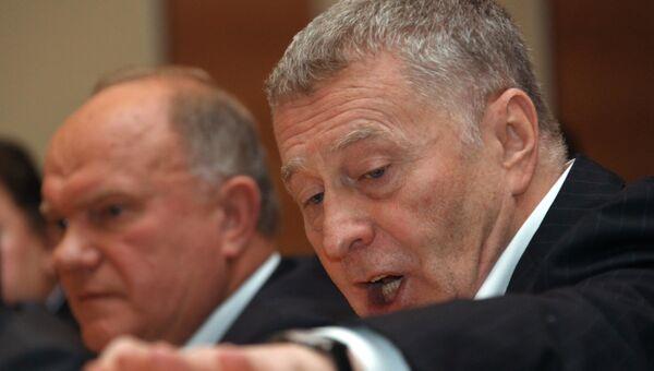 КПРФ и ЛДПР внесут в Госдуму проект об отзыве главы ЦИК РФ Чурова