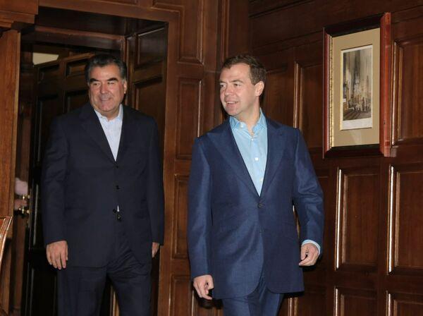 В Кремле проходят российско-таджикистанские переговоры
