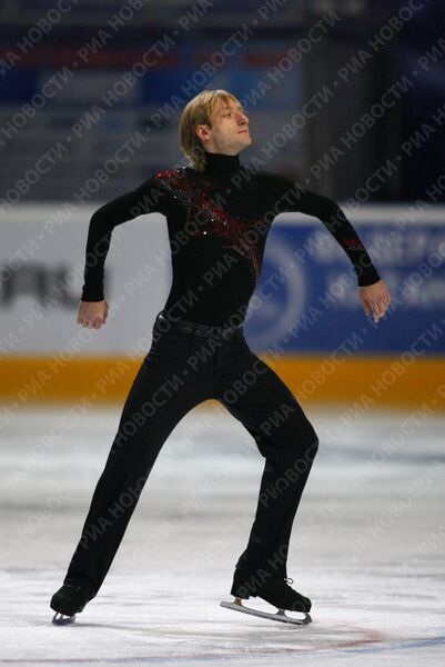 Российский фигурист Евгений Плющенко