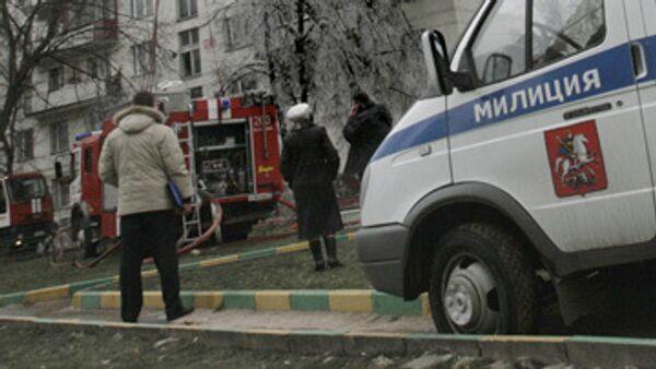 Жильцы горевшего в Москве дома будут временно размещены в гостинице