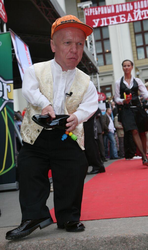 Володя Тишенков на XIII-ой церемонии вручения премии Серебряная калоша в Москве