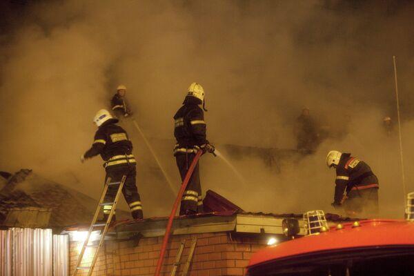 Второй пожар на Черкизовском рынке произойти от предыдущего не мог