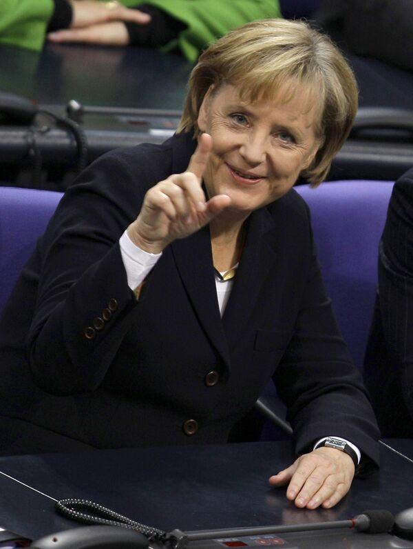 Лиссабонский договор позволит Евросоюзу стать сильнее - Меркель