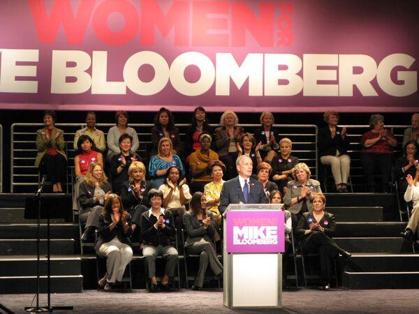 Майкл Блумберг установил мировой рекорд в ходе избирательной кампании, потратив почти 100 миллионов долларов