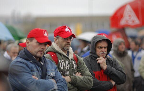 Массовые забастовки рабочих Opel в Германии