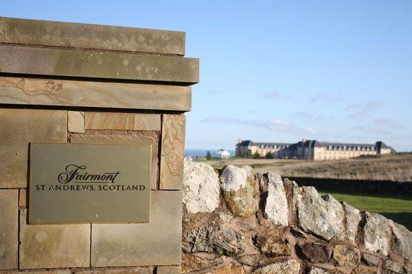 Гольф-курорт Fairmont, где проходит встреча глав финансовых ведомств и центробанков G20 в шотландском Сент-Эндрюсе