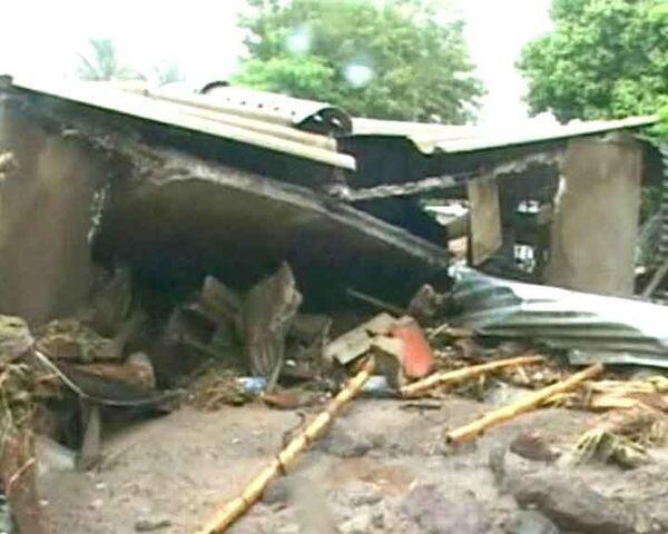 Разрушительные последствия урагана Ида в Сальвадоре
