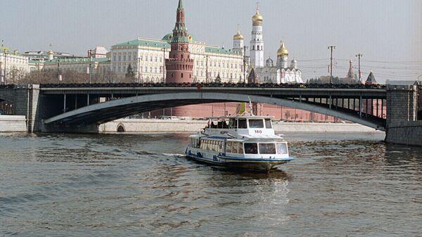 Вид на  Кремль со стороны Москвы-реки. Архив