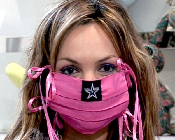 Модные маски от свиного гриппа: хенд-мейд от Маши Цигаль
