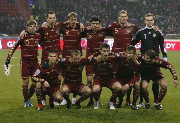 Сборная России по футболу после матча Росси - Словения