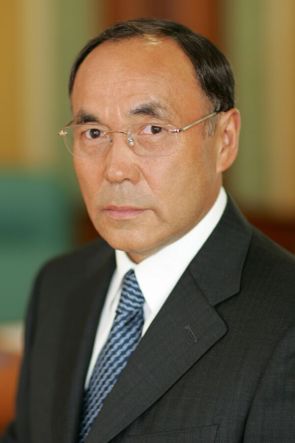 Госсекретарь - министр иностранных дел Казахстана, действующий председатель ОБСЕ Канат Саудабаев. Архив