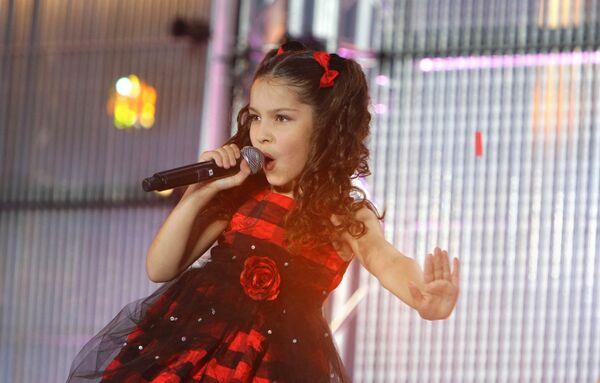Победительница национального российского отборочного конкурса детской песни Евровидение–2009 Екатерина Рябова