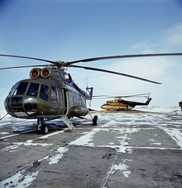 Врачи готовы транспортировать пострадавших при аварийной посадке Ми-8Т