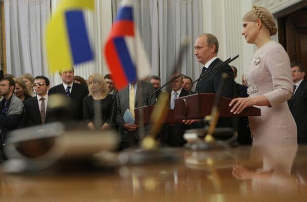 Путин сообщил, что ему комфортно работать с Тимошенко