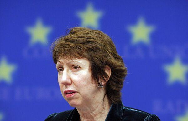 Глава дипломатии ЕС баронесса Кэтрин Эштон вступает в должность