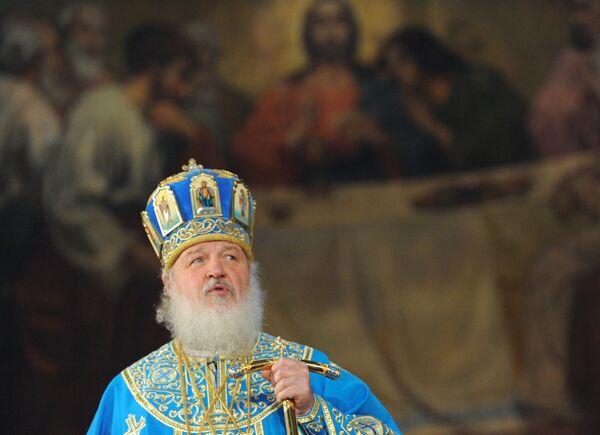 Патриарх Кирилл поздравил папу и всех празднующих Рождество 25 декабря