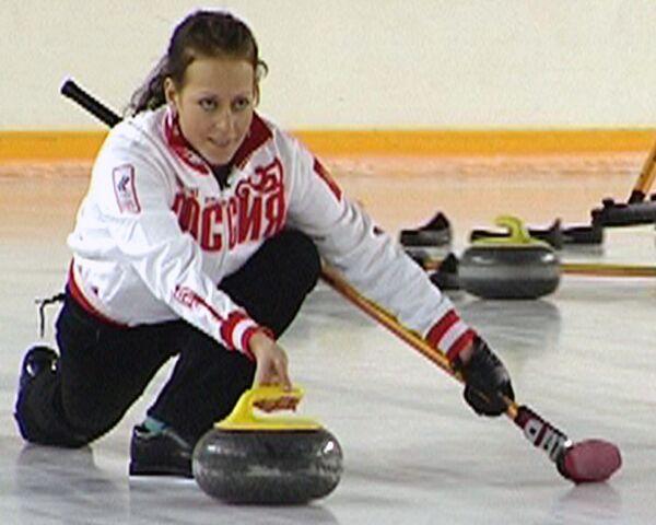 Женская сборная по керлингу готовится к Олимпиаде