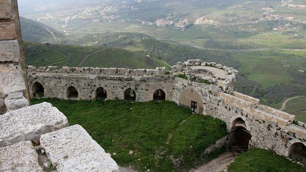 Крак де-Шевалье в Сирии