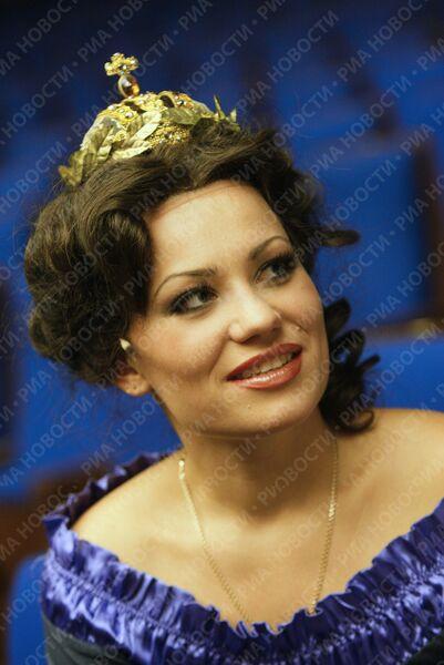 Майя Барковская - исполнительнипца роли молодой Екатерины II в опере Давида Тухманова Царица