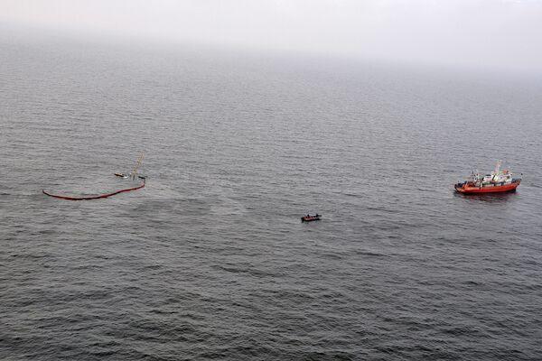 Сухогруз Берил после столкновения с судном Санта-Виктория затонул в Азовском море