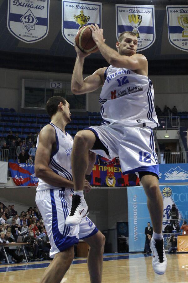 Баскетболисты Динамо. Архив