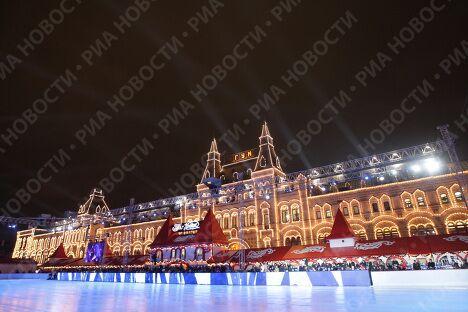 Презентация нового логотипа Олимпийских Зимних Игр-2014 прошла в Москве