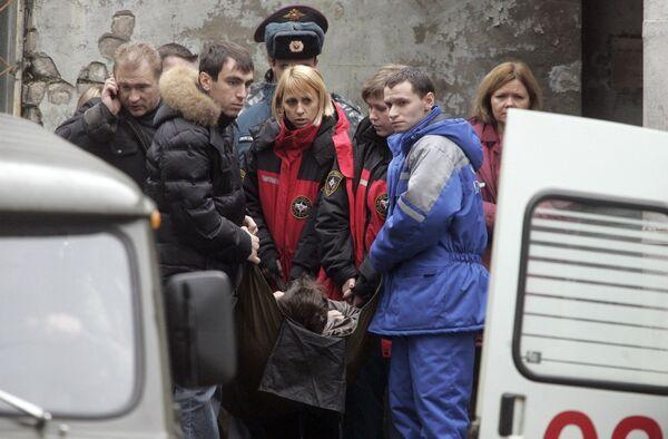 Опознание погибших в крушении Невского экспресса в Твери