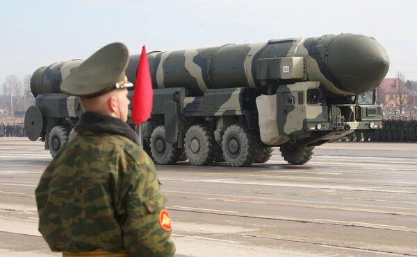 Испытательный пуск баллистической ракеты Тополь прошел успешно - МО