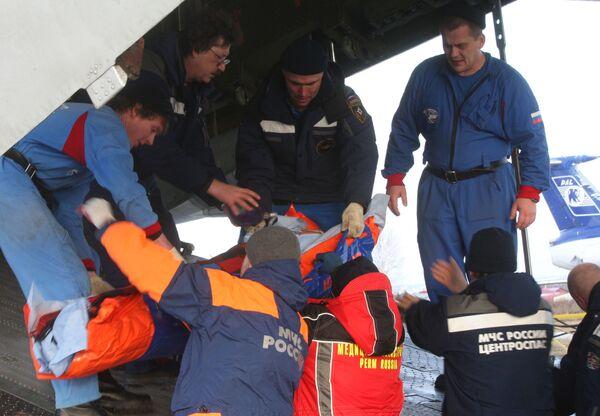 Самолет МЧС доставит из СевОсетии 5 пострадавших при взрыве в Назрани