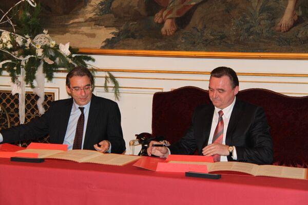 Вологда и Страсбург заключили соглашение о партнерстве