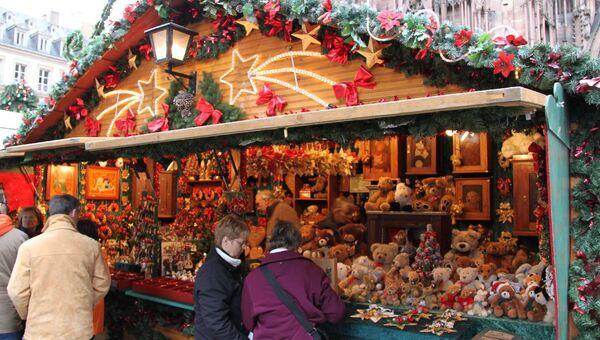 Страсбург : Европейское Рождество с вологодским акцентом. Архивное фото