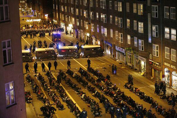 Задержаны участники демонстрации по защите климата в Копенгагене