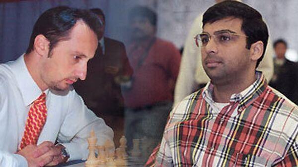 Веселин Топалов и Вишванатан Ананд