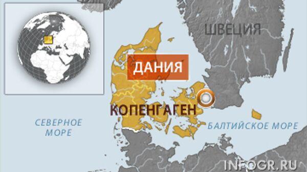 Дания. Карта