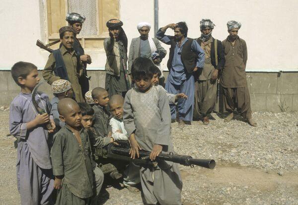 Жители Афганистана. Архив